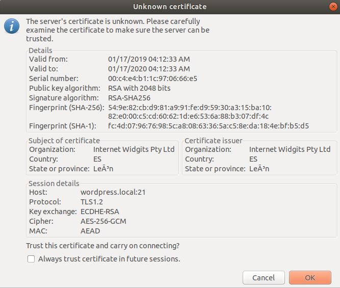 tls certificate