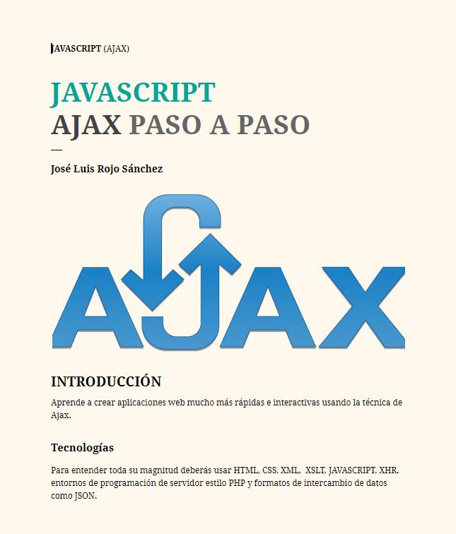 Ajax paso a paso